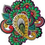 Henna tattoo — Stock Vector #14017813