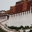 Stock Photo: Tibet palace architecture