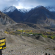 Trekking at Muktinath — Stock Photo