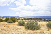 Prairie and Mountains in New Mexico — Stock Photo