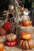 хэллоуин соломы — Стоковое фото
