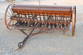 Antico aratro o motozappa — Foto Stock