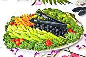 Assiette de légume — Photo