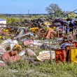 Big Colorful Junkyard — Stock fotografie