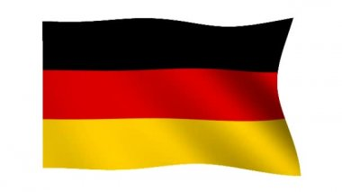 Flag of Germany — Stock Video