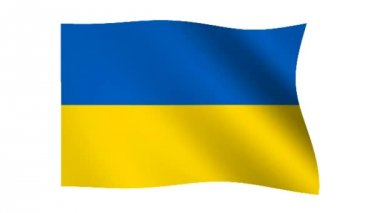 Flag of Ukraine — Stock Video