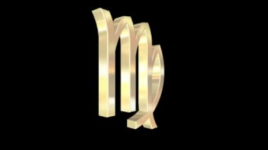 Zodiac sign — Stock Video