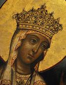 Ikony, galway, matka boží, zlato, tretyakovskaya galerie — Stock fotografie