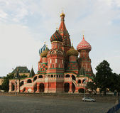 Russian, Moscow, St. Basil's Cathedral — Stock Photo
