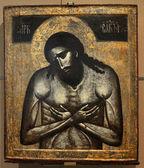 Icon of Jesus Christ, God, — Stock Photo