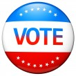 Vote election campaign badge — Photo #13842049