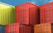 Cargo container — Stock Photo