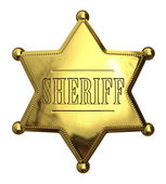 Golden sheriff — Stock Photo