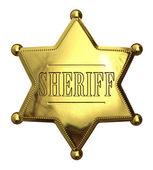 Golden sheriff — Stock Photo