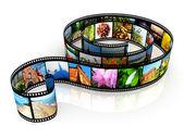 Striscia di pellicola — Foto Stock