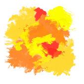 Pomarańczowy streszczenie farba — Zdjęcie stockowe