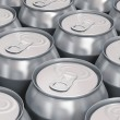 Aluminum beer cans — Stock Photo #20137213