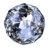 Blue gem stone — Foto Stock