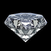 Shiny diamond — Stock Photo