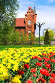 Old german architecture in Kaliningrad (Kenigsberg). Russia — Foto Stock
