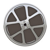 Motion picture film reel — Stock Photo