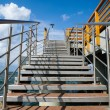 Stock Photo: Staircase to pier