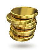 金币 — 图库照片