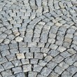 Grey paving stones as background  — Stock Photo