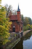 Old german architecture in Kaliningrad. Russia — Stock Photo