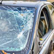 Broken Windshield — Stock Photo #34779425