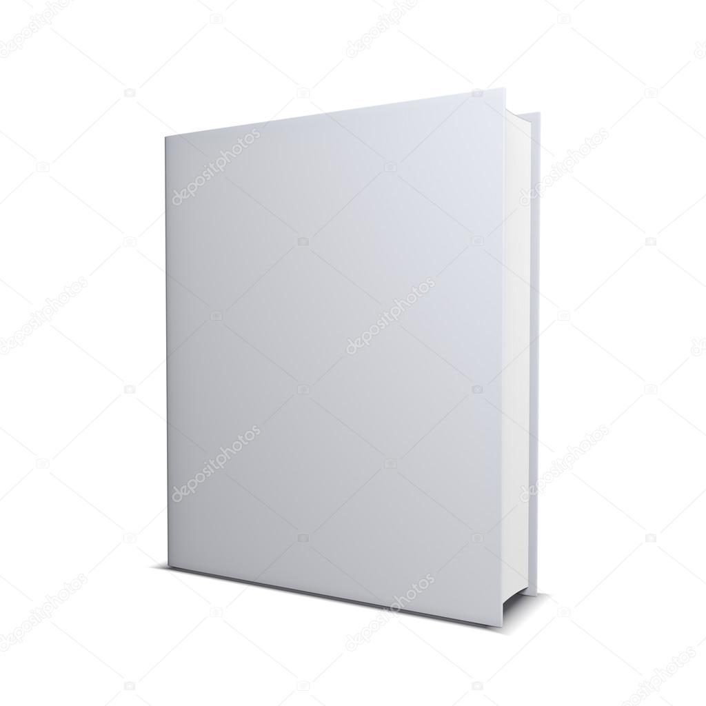 Book Cover White Zip : Leere buchcover — stockfoto gl ck