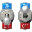 Toggle Switch — Stock Photo