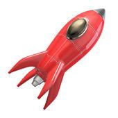 火箭飞船 — 图库照片