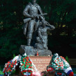 Stock Photo: Monument to Warriors scout. Kaliningrad