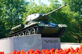 "Monument ""T-34"". Kaliningrad — Stock Photo"