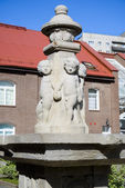 "Fountain ""Puttenbrunnen"". Kaliningrad — Stock Photo"
