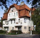 Zelenogradsk. House on Lenin Street — Stock Photo