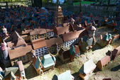City in miniature, landmark of Svetlogorsk — Stockfoto
