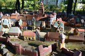 City in miniature, landmark of Svetlogorsk — Stock fotografie