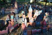 City in miniature, landmark of Svetlogorsk — Stock Photo