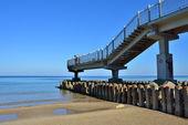Beach of Baltic sea in Svetlogorsk — Stock Photo