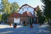 Architecture of Svetlogorsk (formerly Raushen). Kaliningrad region, Russia — Stock Photo