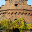 Old military fortification. Kaliningrad — Stock Photo #38961783