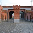 Railway Gate (Eisenbahnhof Tor). Kaliningrad — Stock Photo