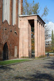 Immanuel Kant's Grave. Kaliningrad — Stock Photo