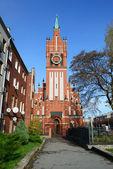 Church of the Holy Family in Kaliningrad. Russia — Stock Photo