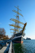 "Russian Navy sail training ship ""Kruzenshtern"" — Stockfoto"