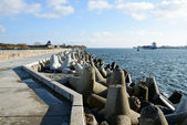 North Pier. Baltiysk — Stock Photo