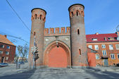 The Sackheim Gate in Kaliningrad, Russia — Stock Photo