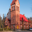 Church at Kievskaystreet. Kaliningrad — Stock Photo #38970207